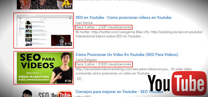 miniaturas o thumbnail seo youtube