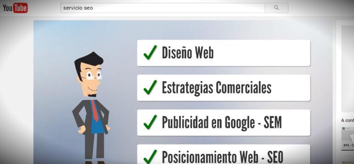 ofrecer servicios en youtube