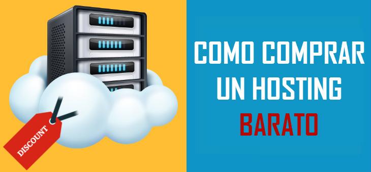 Cómo comprar hosting barato