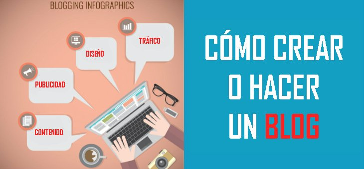 Cómo crear un blog en WordPress, Blogger y Tumblr