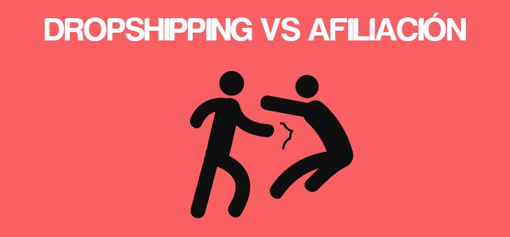 dropshipping y afiliacion diferencias