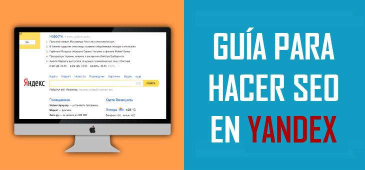 Guía para hacer SEO en Yandex